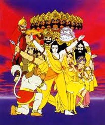 indo-16 -ramayana serial image -