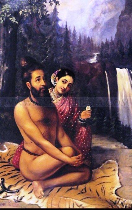 visvamithra and menaka