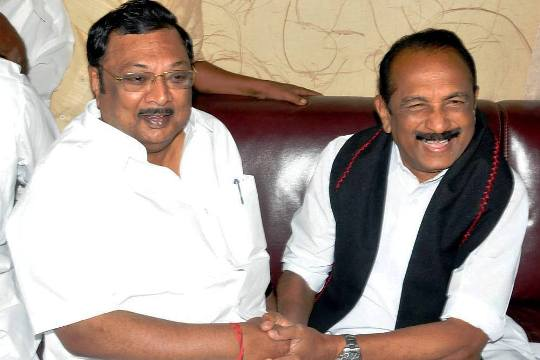 azhagiri and vaiko