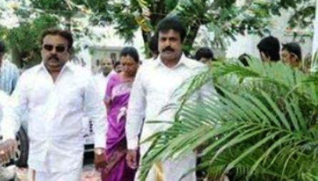 vijaykanth family party