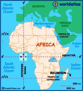 reunion  map location