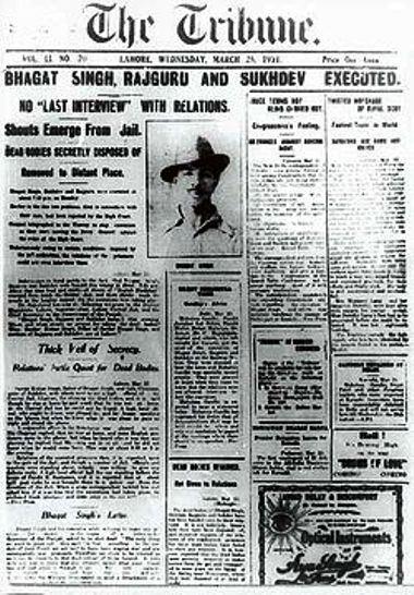 bhagat_singhs_execution_lahore_tribune_front_page-3