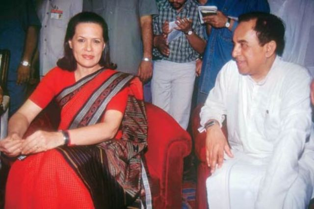 Dr.swamy and  mrs.gandhi