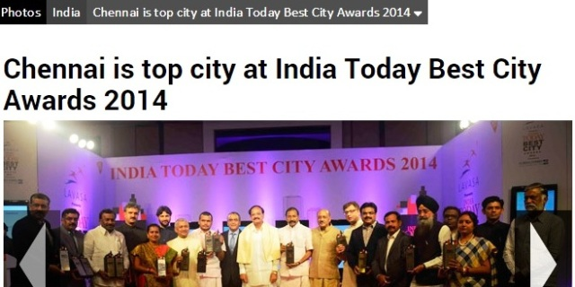 best city award- group foto
