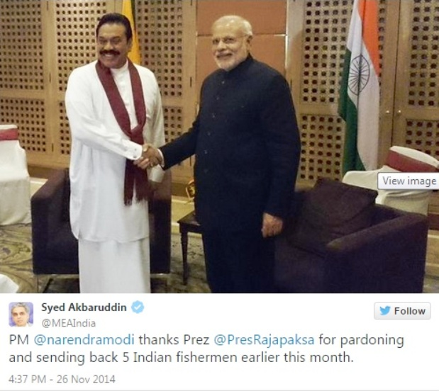 rajabakse and modiji at saarc meet-2