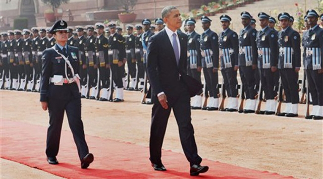 guard of honour for obama