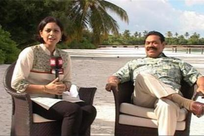 suhasini and rajapaksa