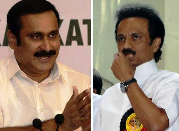 anbumani and stalin