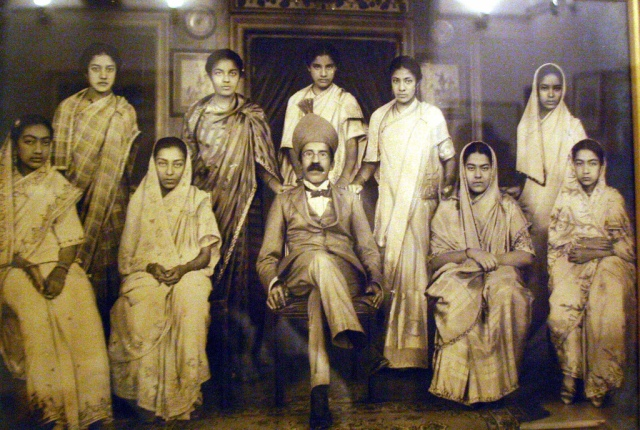 nizam with his wives