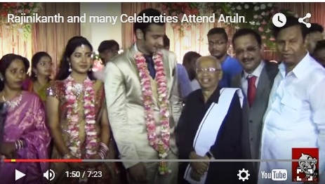 arulnithi marriage -k.veeramani
