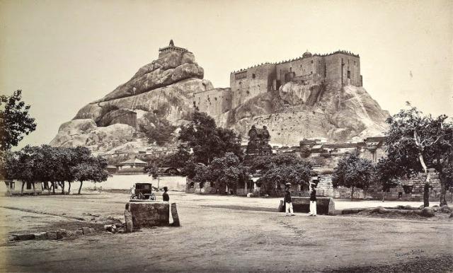 Tiruchirapalli-Rock-Fort,-1869