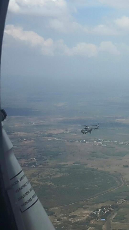 dr. kalam -s final air ride