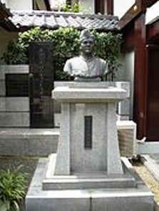 nethaji statue at renkoji temple -tokyo