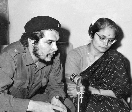 1959 - che guevara recording interview with all india radio delhi