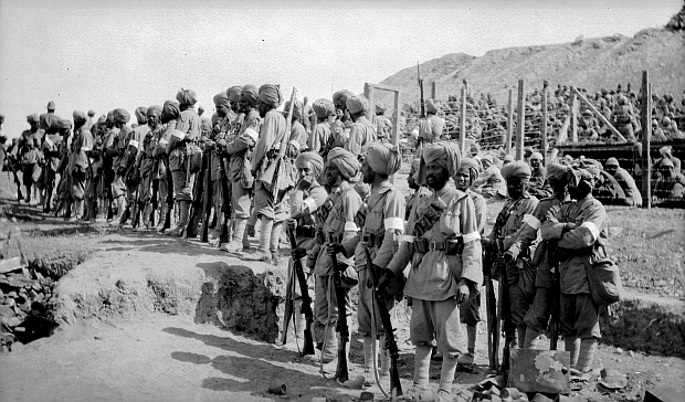 indian sikh soldiers