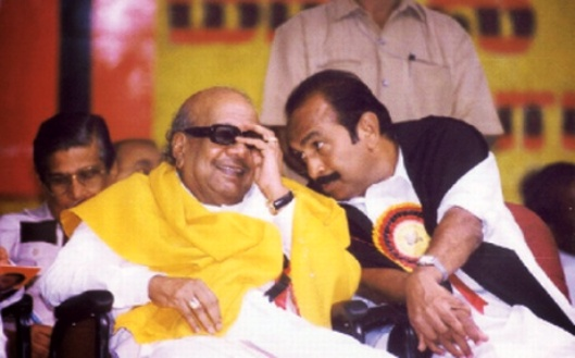 kalaignar and vaiko