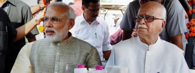 advaniji and modiji