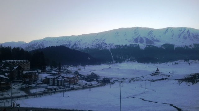 gulmarg view from r.p.