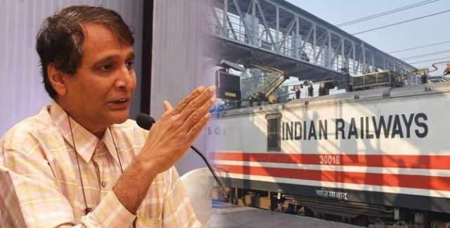 Suresh prabhu railways