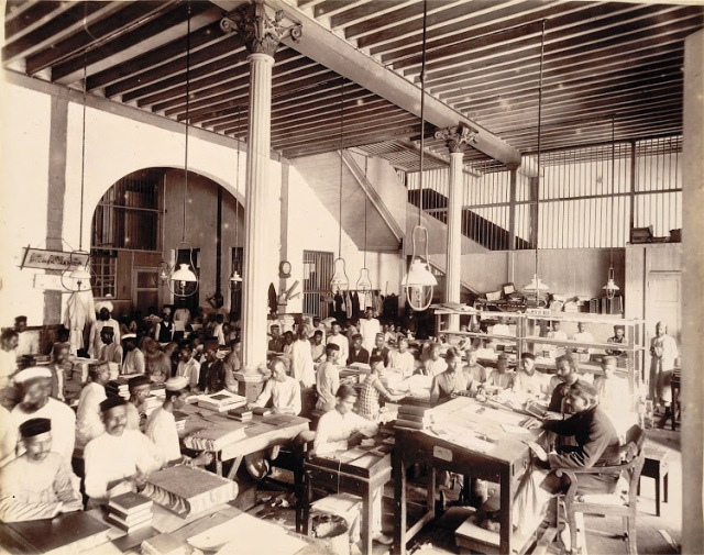 03-Binding-room-in-Times-of-India-Office-in-Bombay-(Mumbai)--November-1898