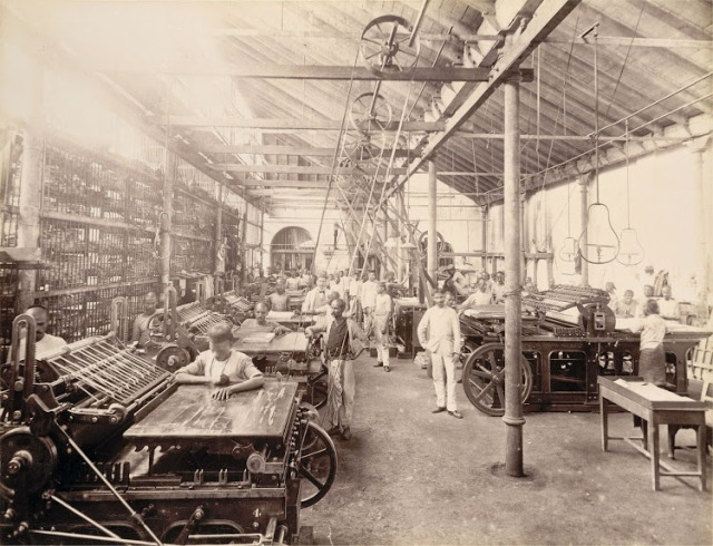 14-Machine-room-No.1-in-Times-of-India-Office-in-Bombay-(Mumbai)--November-1898