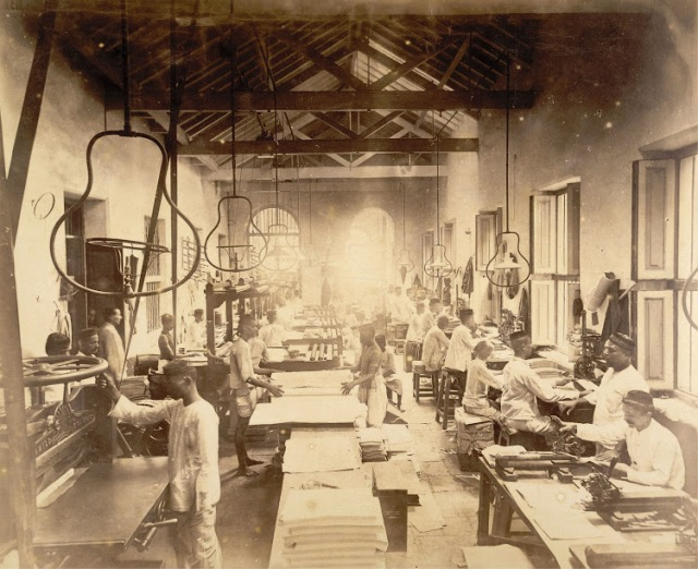 17-Ruling-and-paging-room-in-Times-of-India-Office-in-Bombay-(Mumbai)--November-1898