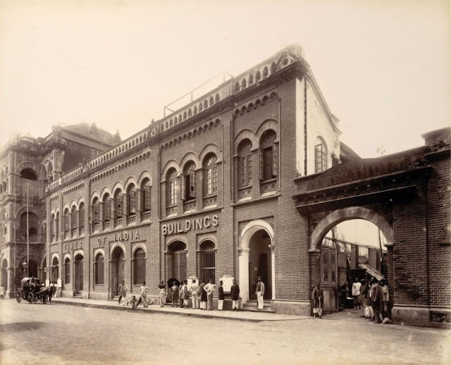 19-Times-of-India-Building-corner-of-Elphinstone-Circle---c1880's