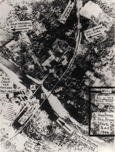 camp tha makham close to japanese airfield and bridges