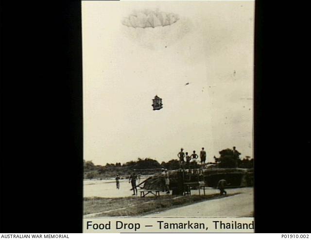 food drop after japanese surrender-