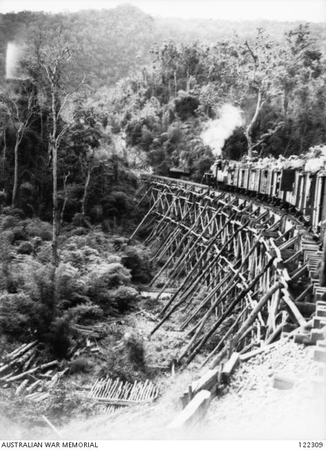 one of six trestle bridges between Konyu and hintok