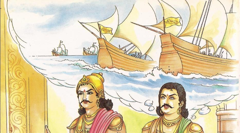 Image result for king and a poet in old tamilnadu