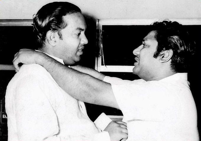 sivaji and kannadasan