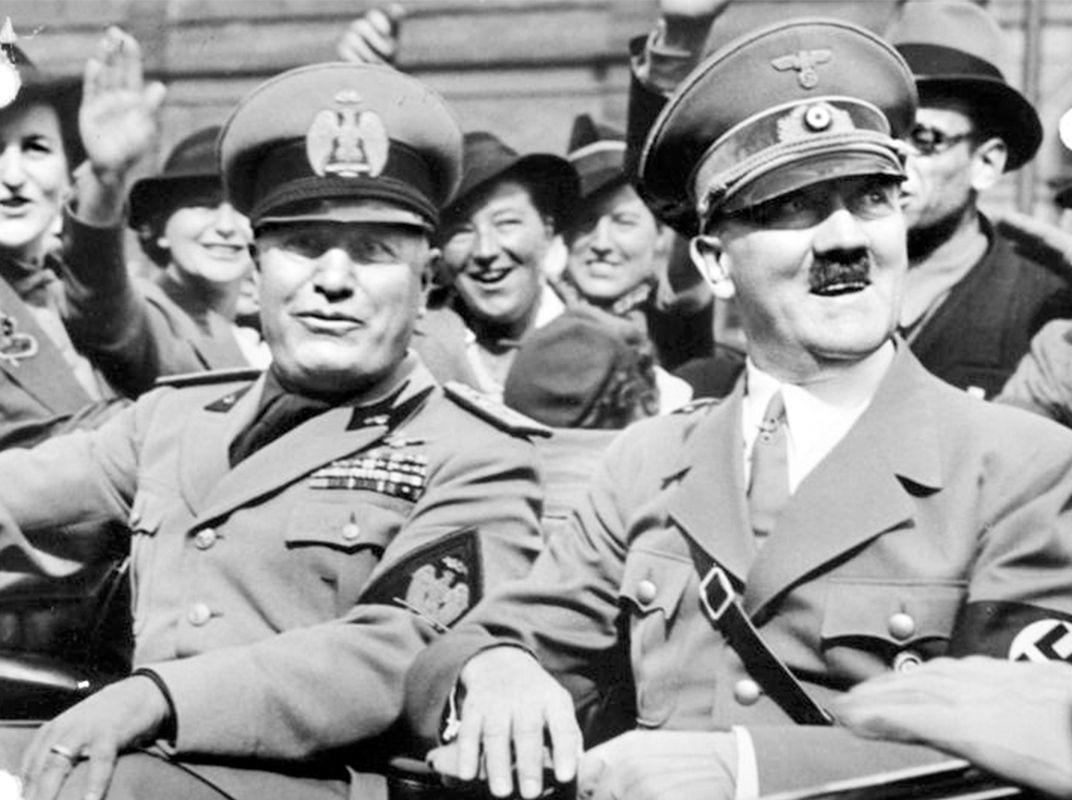 hitler and musolini