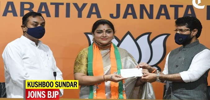 kushboo -joins bjp